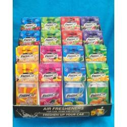 Zawieszka zapachowa FreshCar Fruits Premium